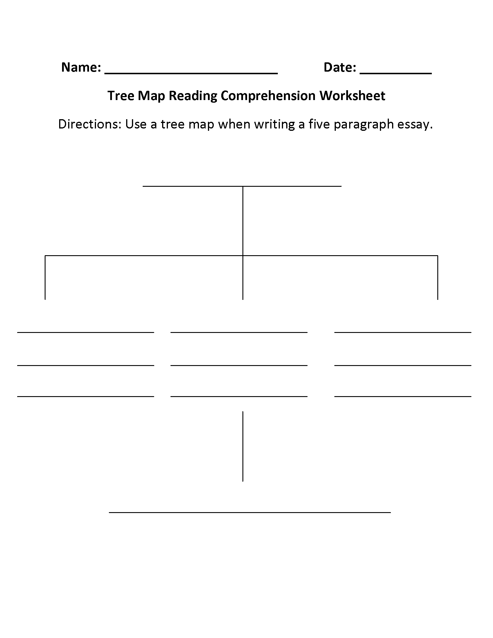10 Spectacular Main Idea Worksheets For 5Th Grade englishlinx reading comprehension worksheets 2020