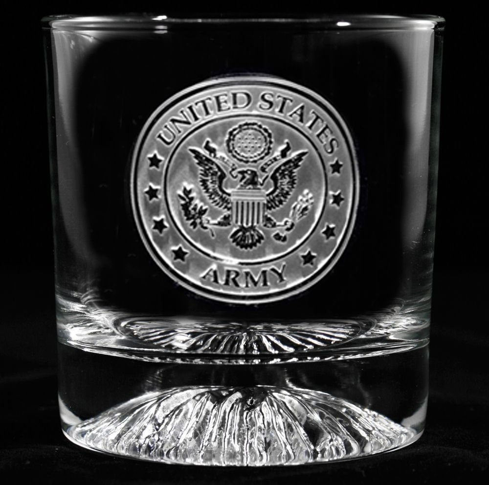 10 Cute Gift Ideas For Military Men engraved army whiskey glass whiskey glasses army and gift 2020