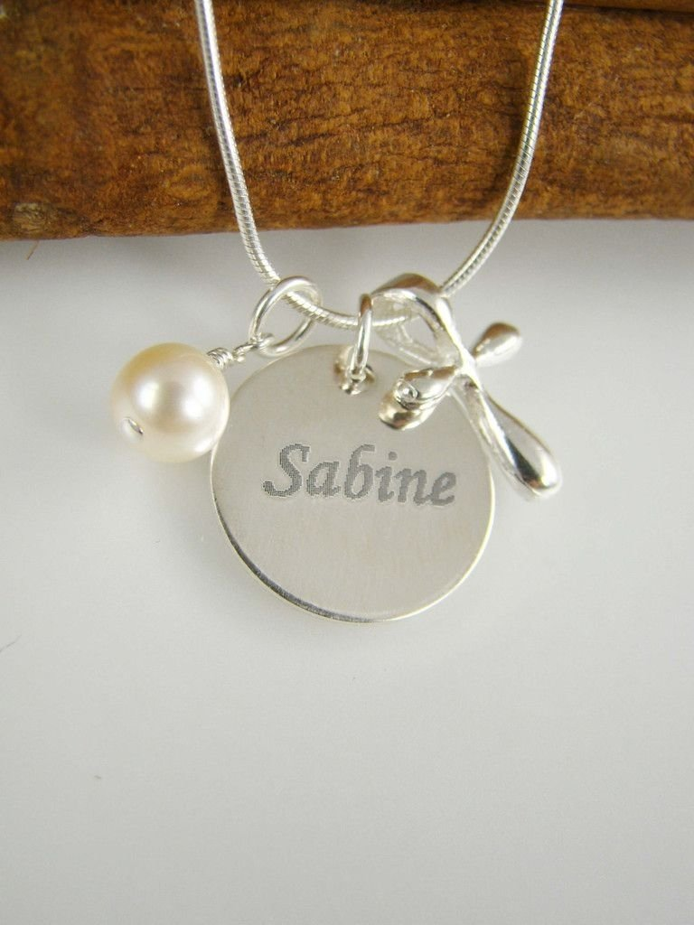 10 Spectacular Baptism Gift Ideas For Girls engraved girl baptism gift cross necklace name and date necklace 1