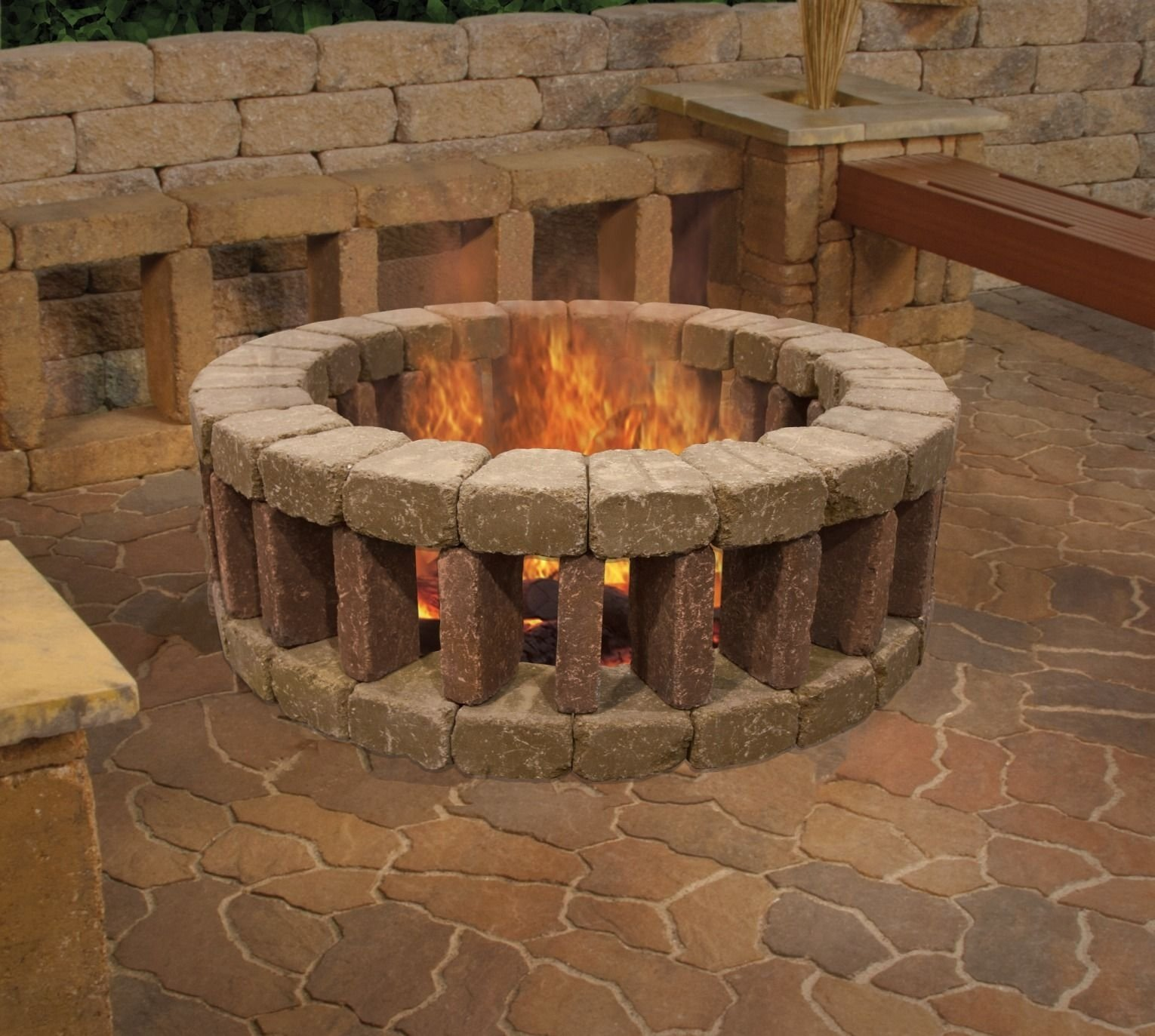 10 Spectacular Do It Yourself Fire Pit Ideas enjoy your evenings outsidelounging around a belgian fire ring 2021