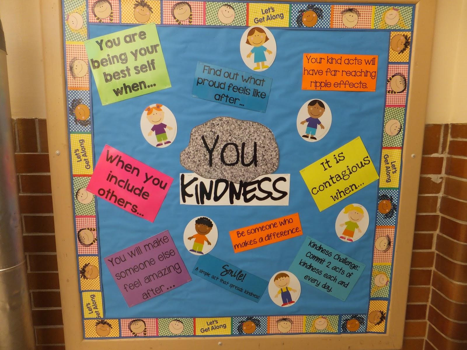 10 Lovely Bulletin Board Ideas For Elementary School entirely elementaryschool counseling you rock kindness bulletin 1 2020