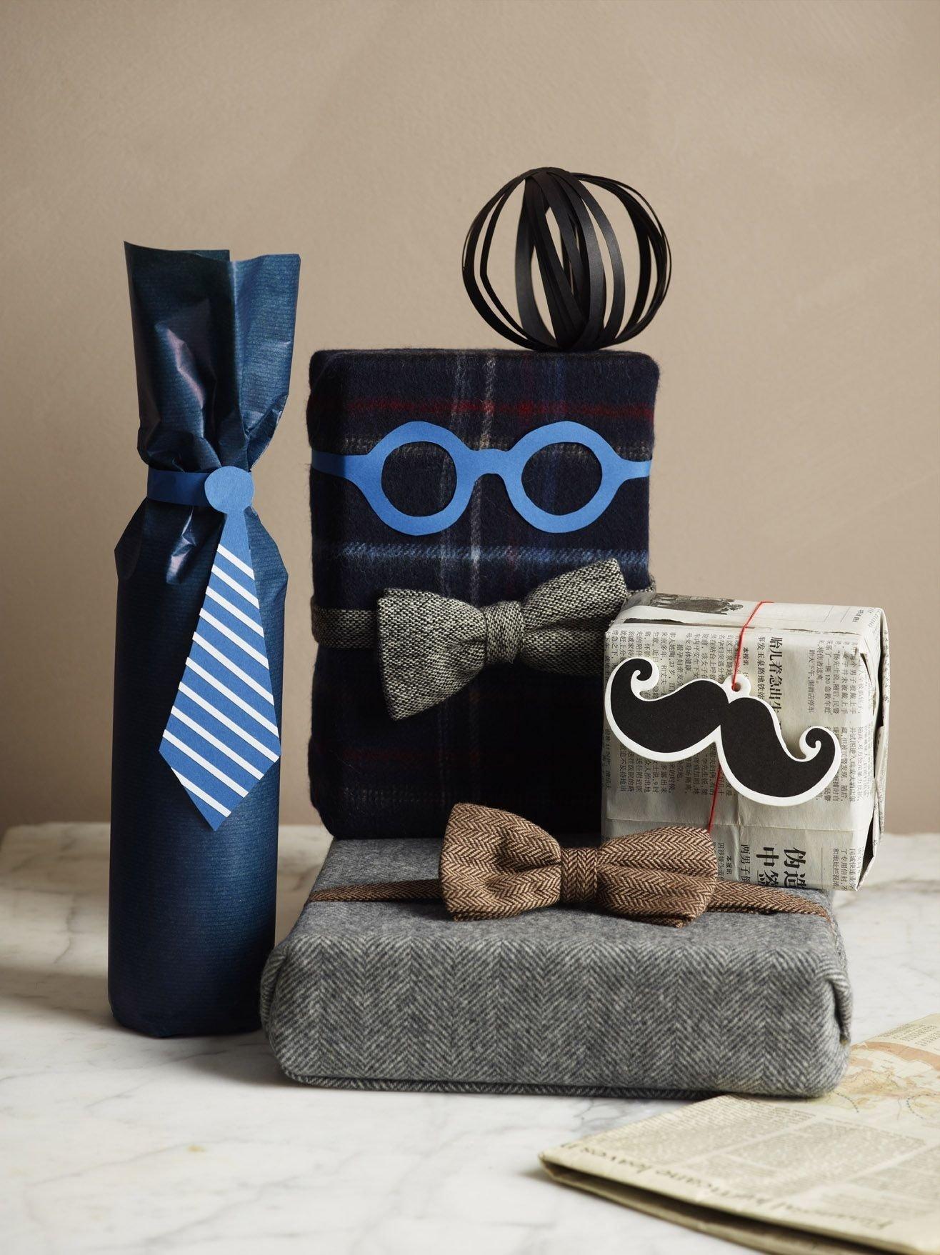10 Stylish Gift Wrapping Ideas For Him envoltorios originales para el dia del padre 2020