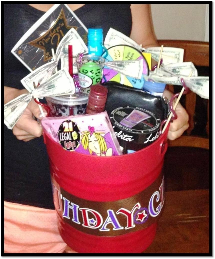 10 Trendy 21 Birthday Gift Ideas For Her Epic 21st Bucket Rscwife Giving