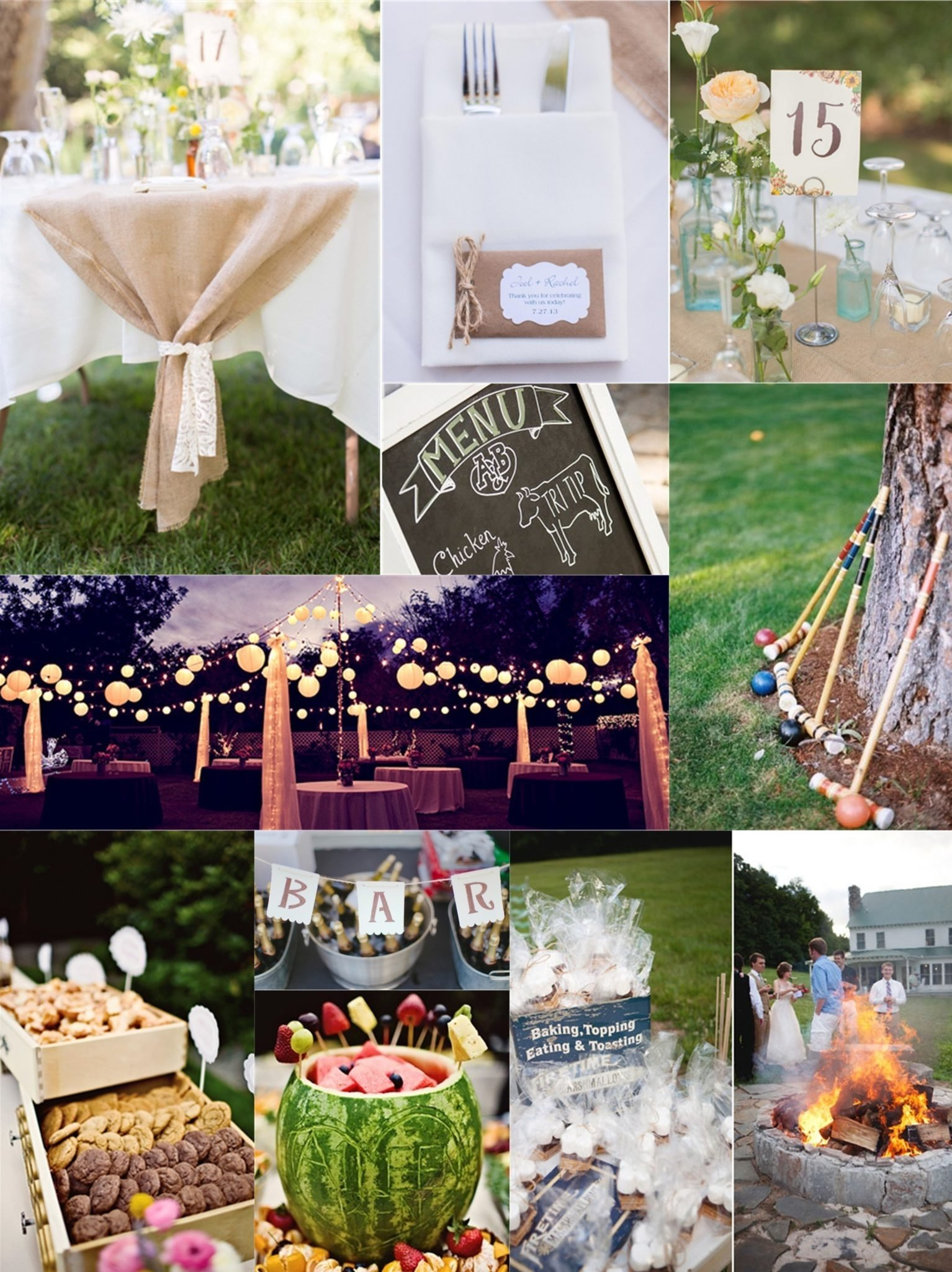 10 Famous Wedding On A Budget Ideas essential guide to a backyard wedding on a budget 4
