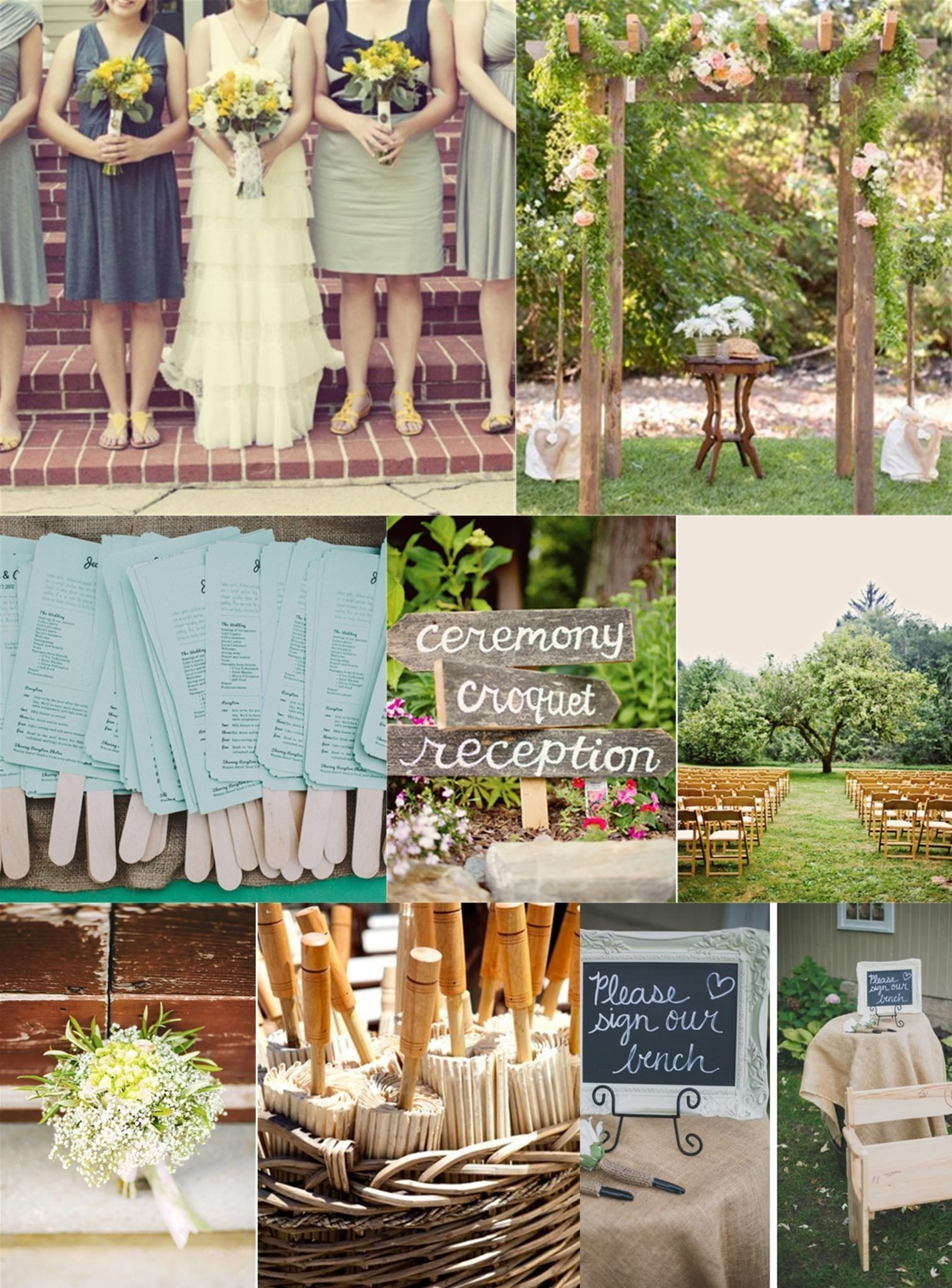 10 Attractive Wedding Ideas For Summer On A Budget essential guide to a backyard wedding on a budget 5 2020