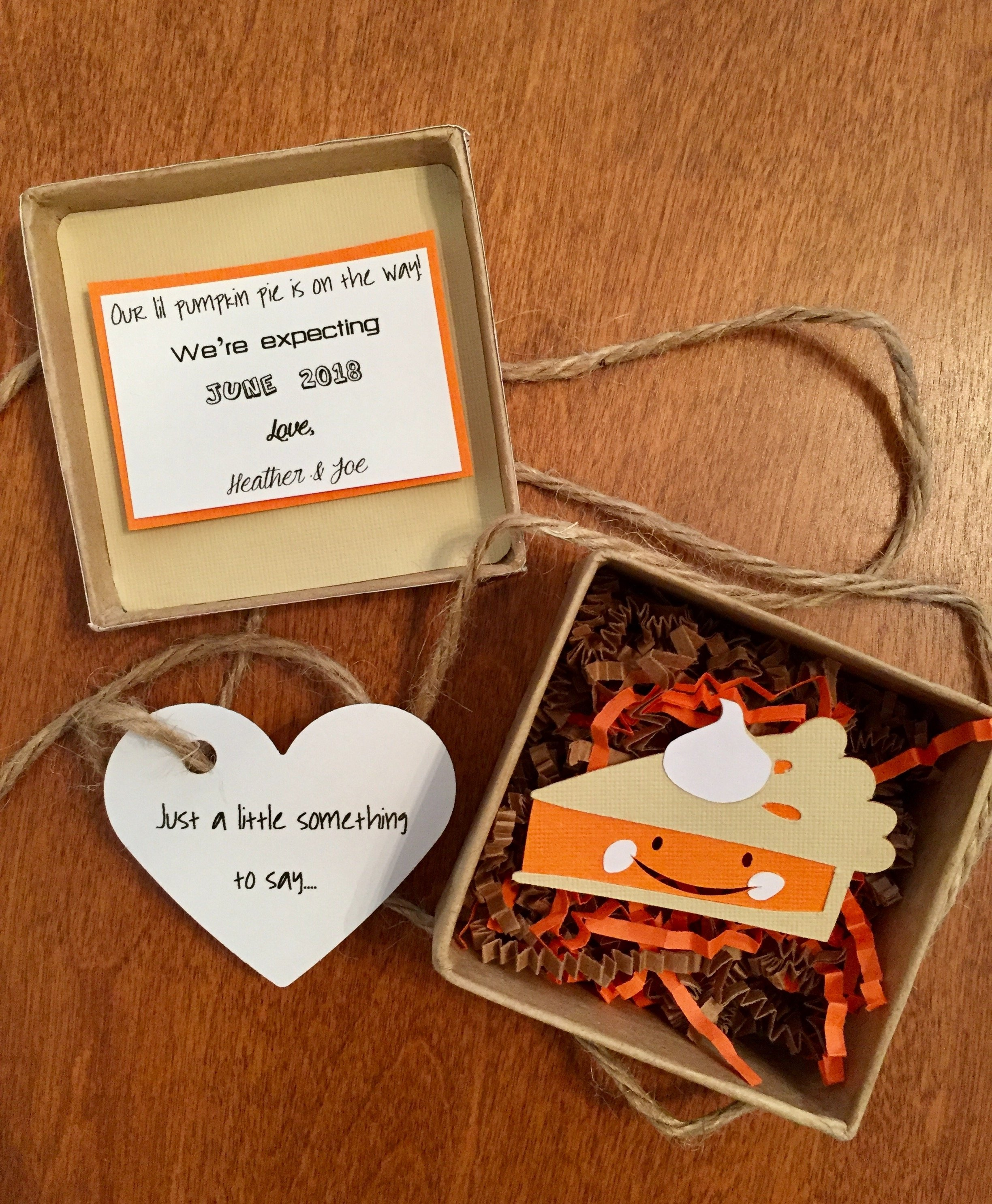 etsy shop avery vienna: pregnancy announcement, pumpkin pie baby