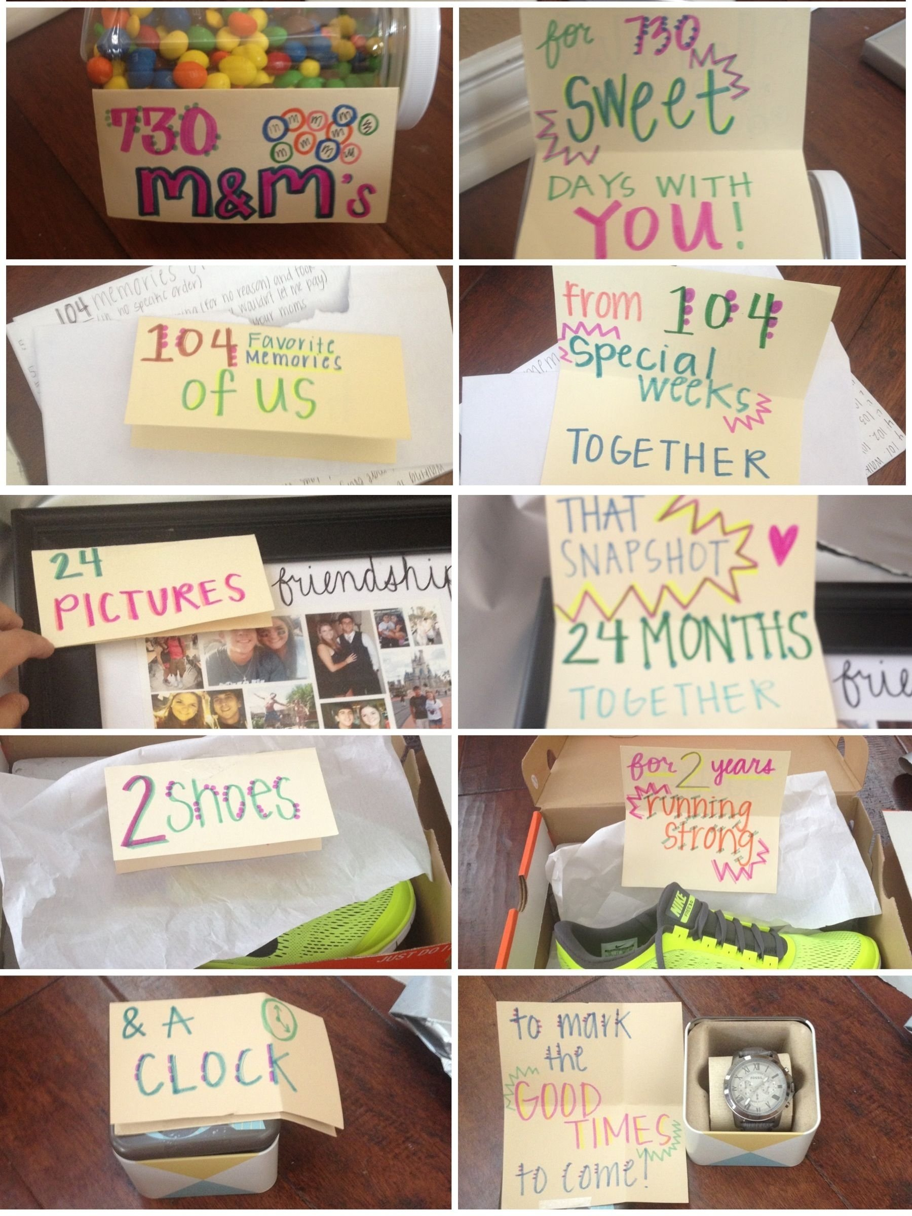 10 Amazing 2 Year Anniversary Ideas Him even though the two years has passed i could use this for 16