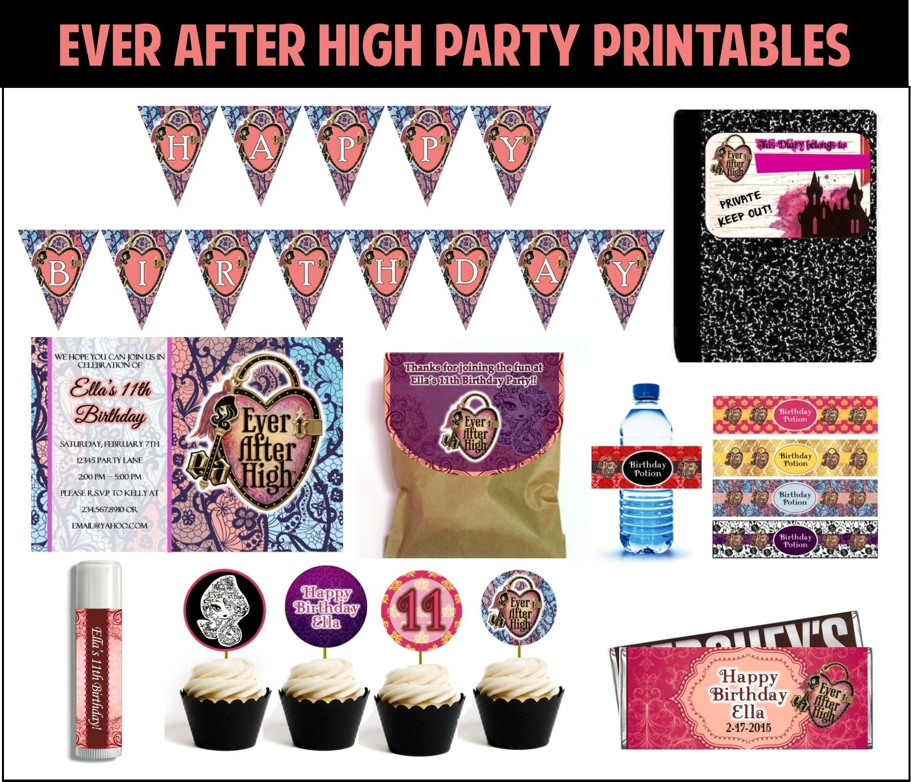 10 Elegant Monster High Birthday Party Game Ideas ever after high party games and ideas to make your theme party 2020