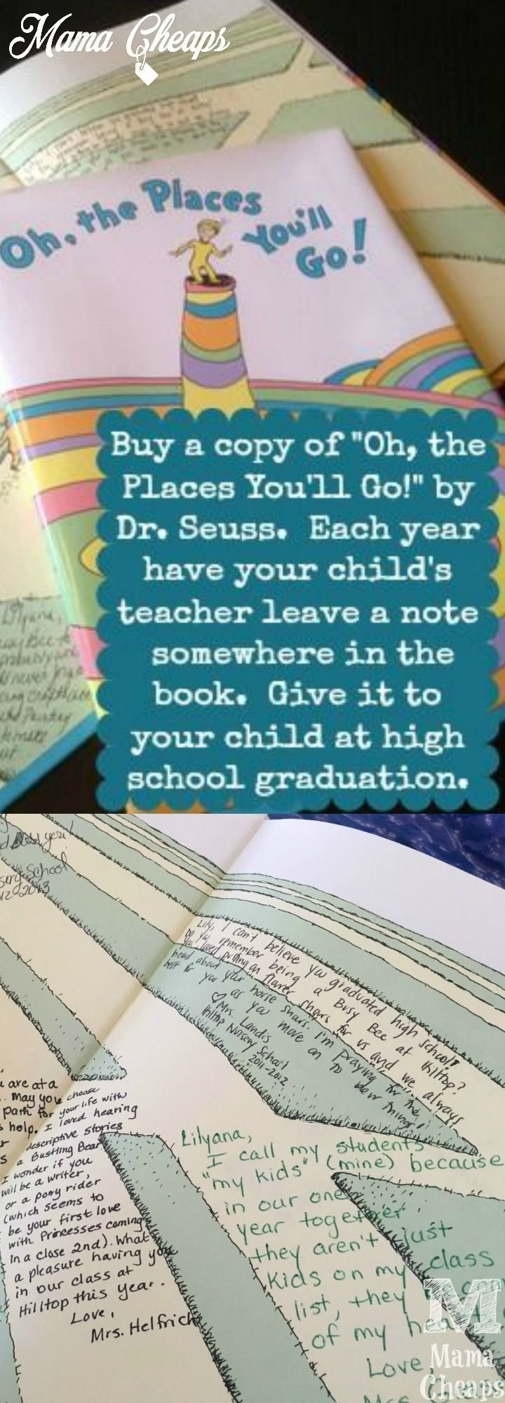 10 Wonderful Oh The Places You Ll Go Gift Ideas every year have your childs teachers sign the book oh the places 2020