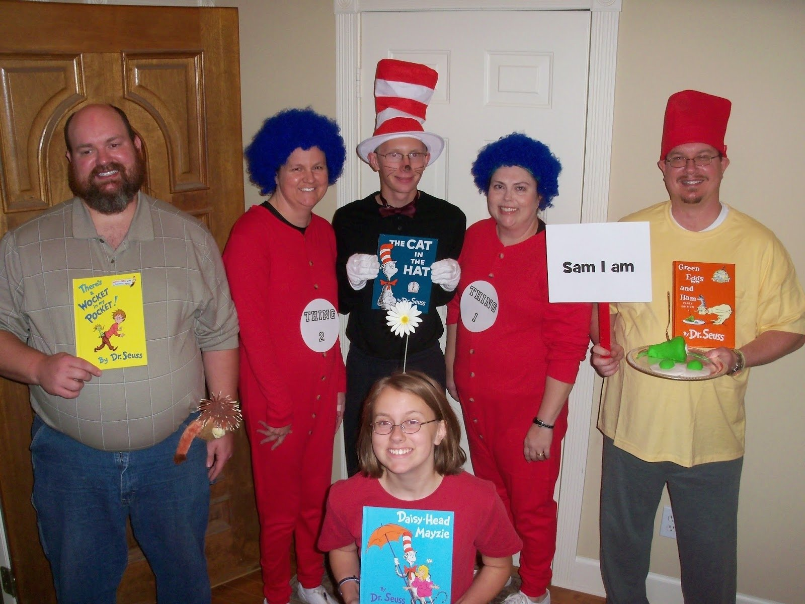 10 Best Dr Seuss Characters Costumes Ideas everybodys aunt andi halloween costume and party ideas dr seuss 2