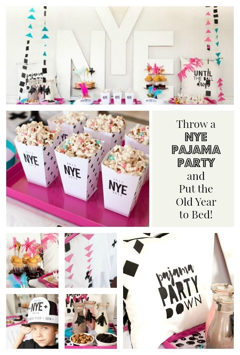 10 Fabulous New Years Eve Party Ideas For Adults everything you need for the perfect nye pajama party party 1 2020