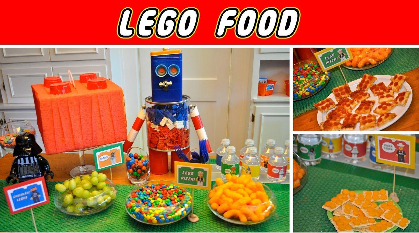 10 Nice Lego Birthday Party Food Ideas ewe hooo jacksons lego builders birthday party 1 2020