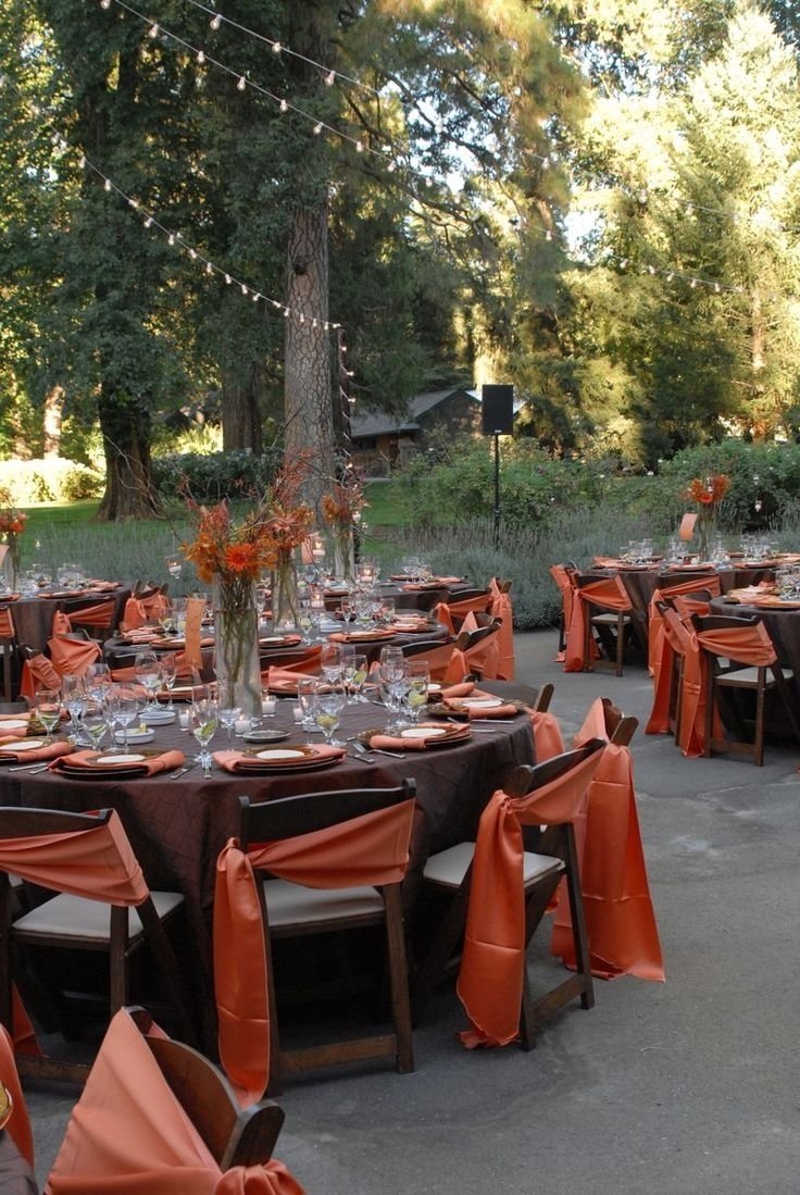 10 Wonderful Wedding Theme Ideas For Fall excellent awesome outdoor fall wedding decor ideas from fall wedding 1