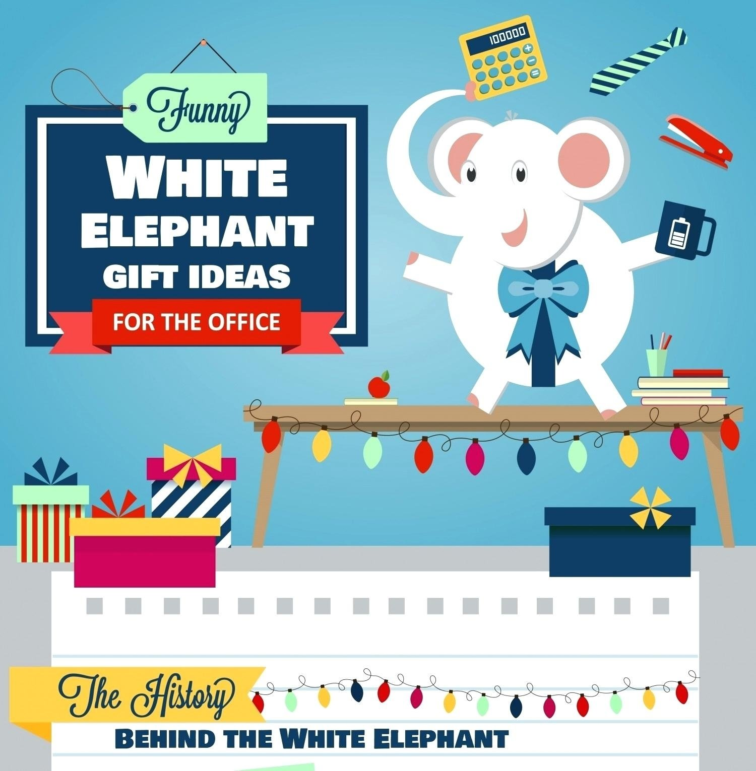 10 Stylish Great White Elephant Gift Ideas excellent office ideas office christmas party white elephant gift 2020