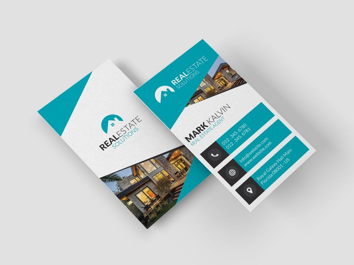 10 Wonderful Real Estate Business Card Ideas