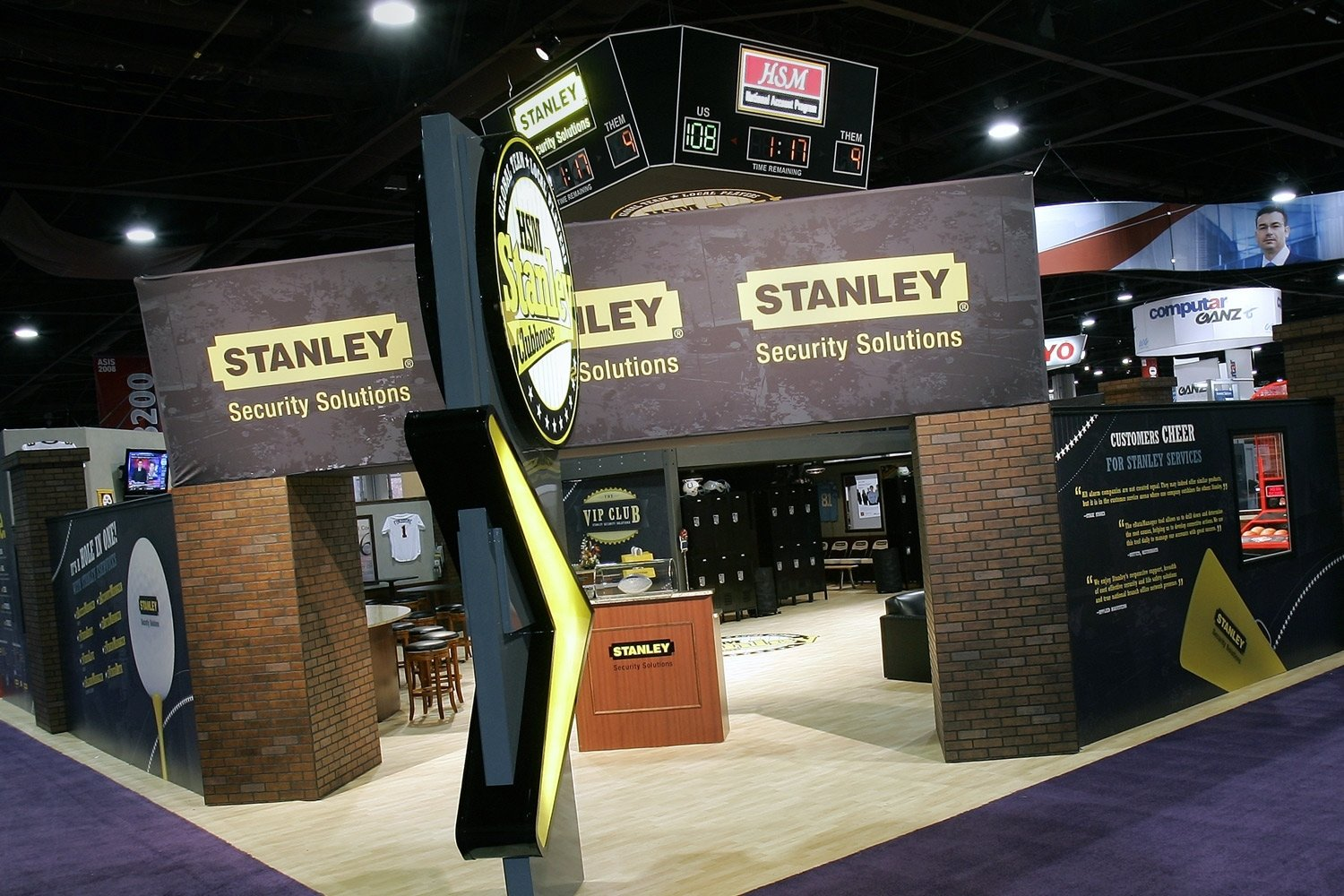 10 Fashionable Creative Trade Show Booth Ideas exhibit industry buyers guide featherlite exhibits