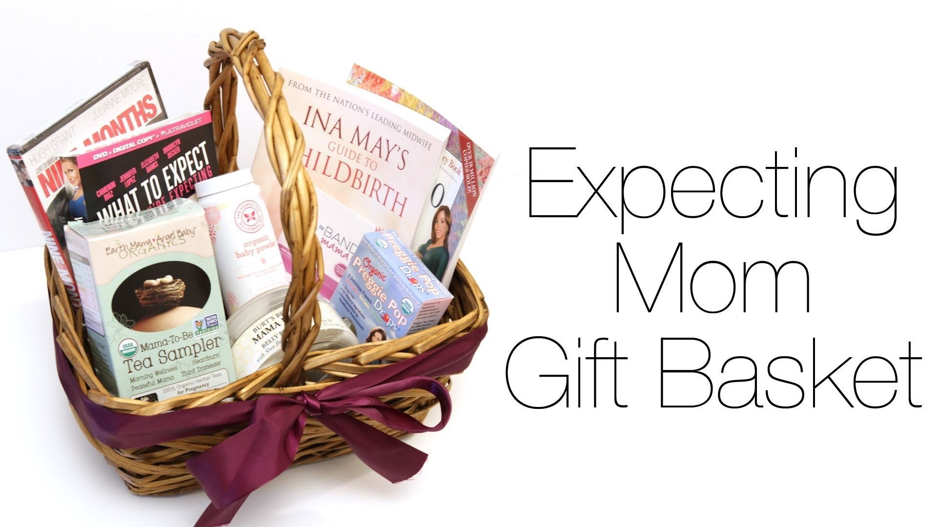 10 Most Popular Gift Ideas For Expecting Mothers expecting mom gift basket youtube 2 2020
