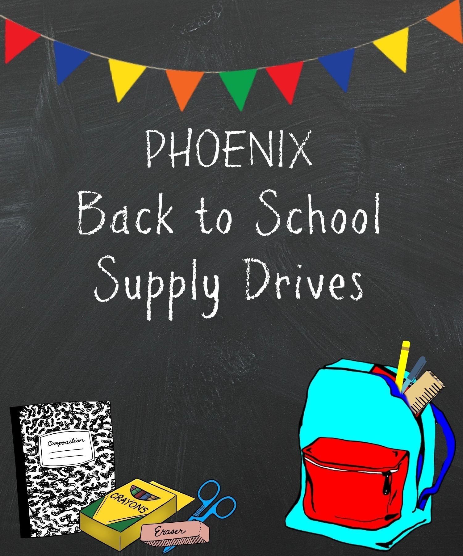 10 Unique High School Service Project Ideas extensive list of phoenix area back to school supply drives