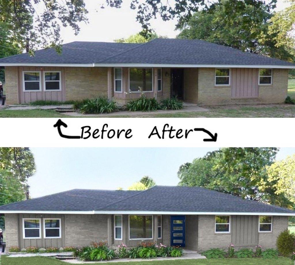10 Best Exterior Paint Ideas For Ranch Style Homes exterior color schemes for ranch style homes home interior decor ideas