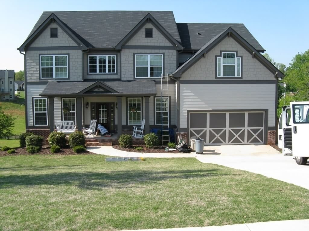 10 Fantastic Exterior Paint Ideas For Homes exterior design home exterior paint color ideas with various gray 1 2021