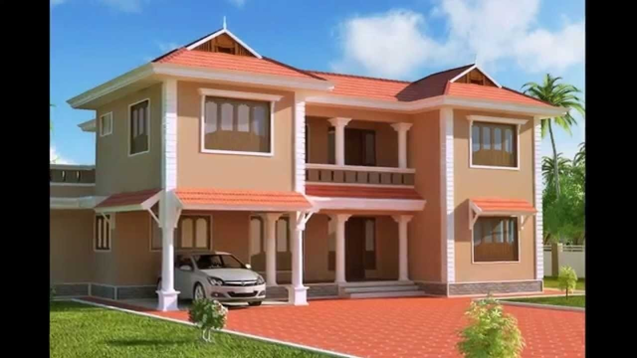 10 Attractive Exterior House Paint Ideas Pictures exterior designs of homes houses paint designs ideas indian modern 2020
