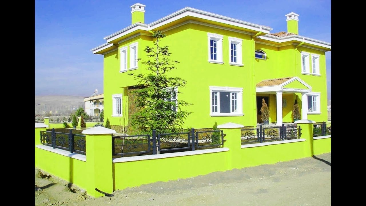 10 Ideal Exterior House Paint Color Ideas exterior house painting color ideas youtube 1 2020