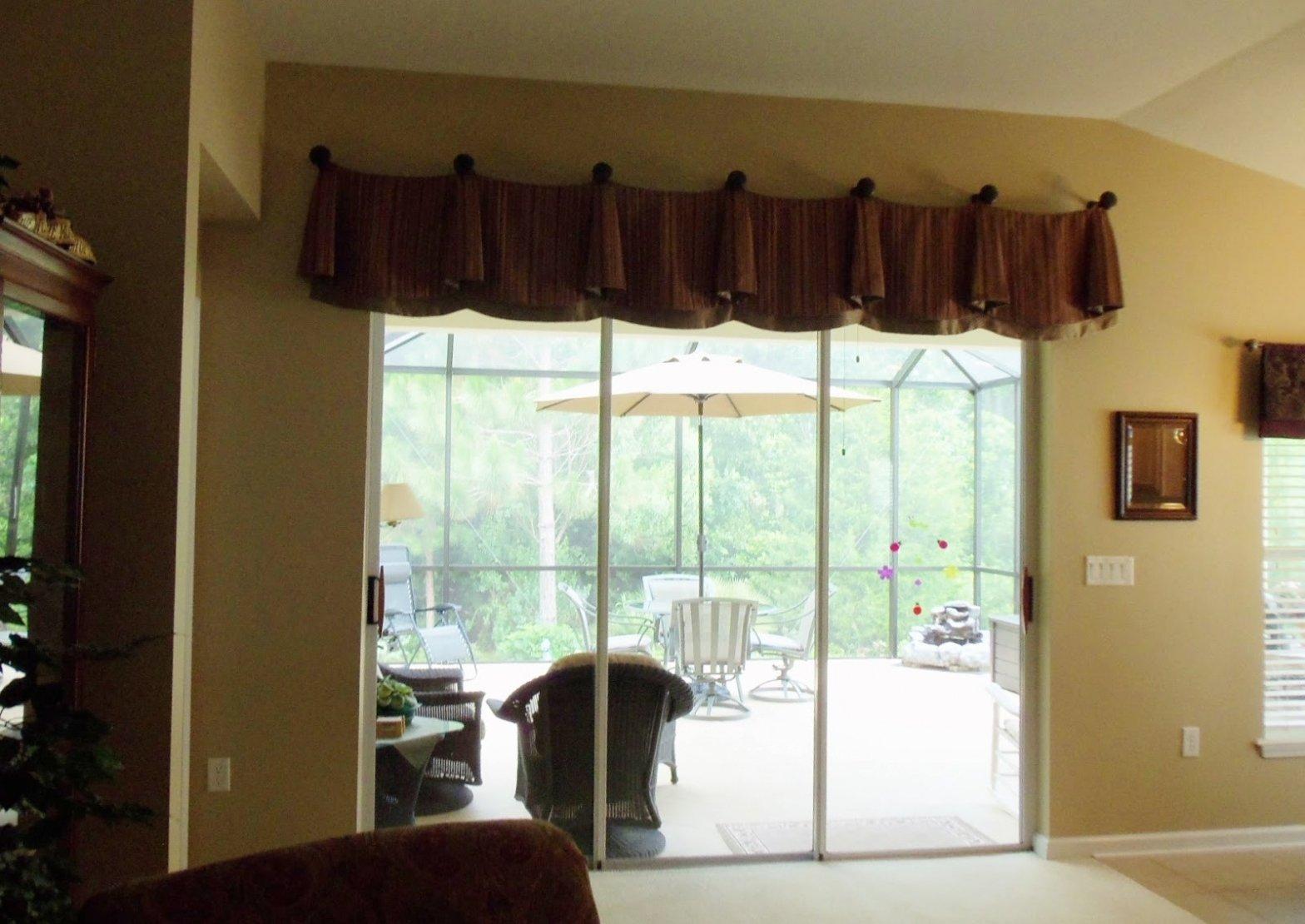 10 Amazing Sliding Glass Door Curtain Ideas exterior patio door blinds sliding door curtains sliding glass door 1 2020