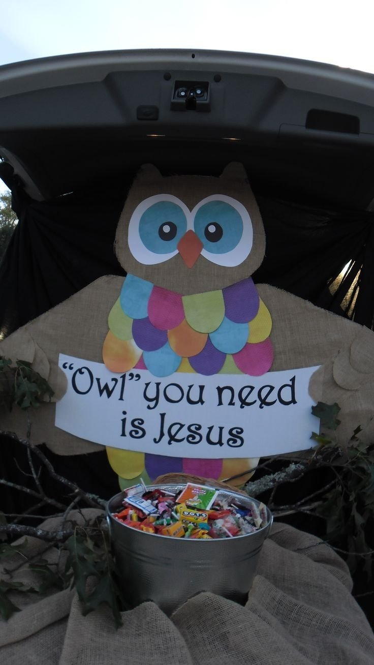 10 Attractive Trunk Or Treat Decorating Ideas For Church exterior trunk or treat decorating ideas for church and owl you need 2020