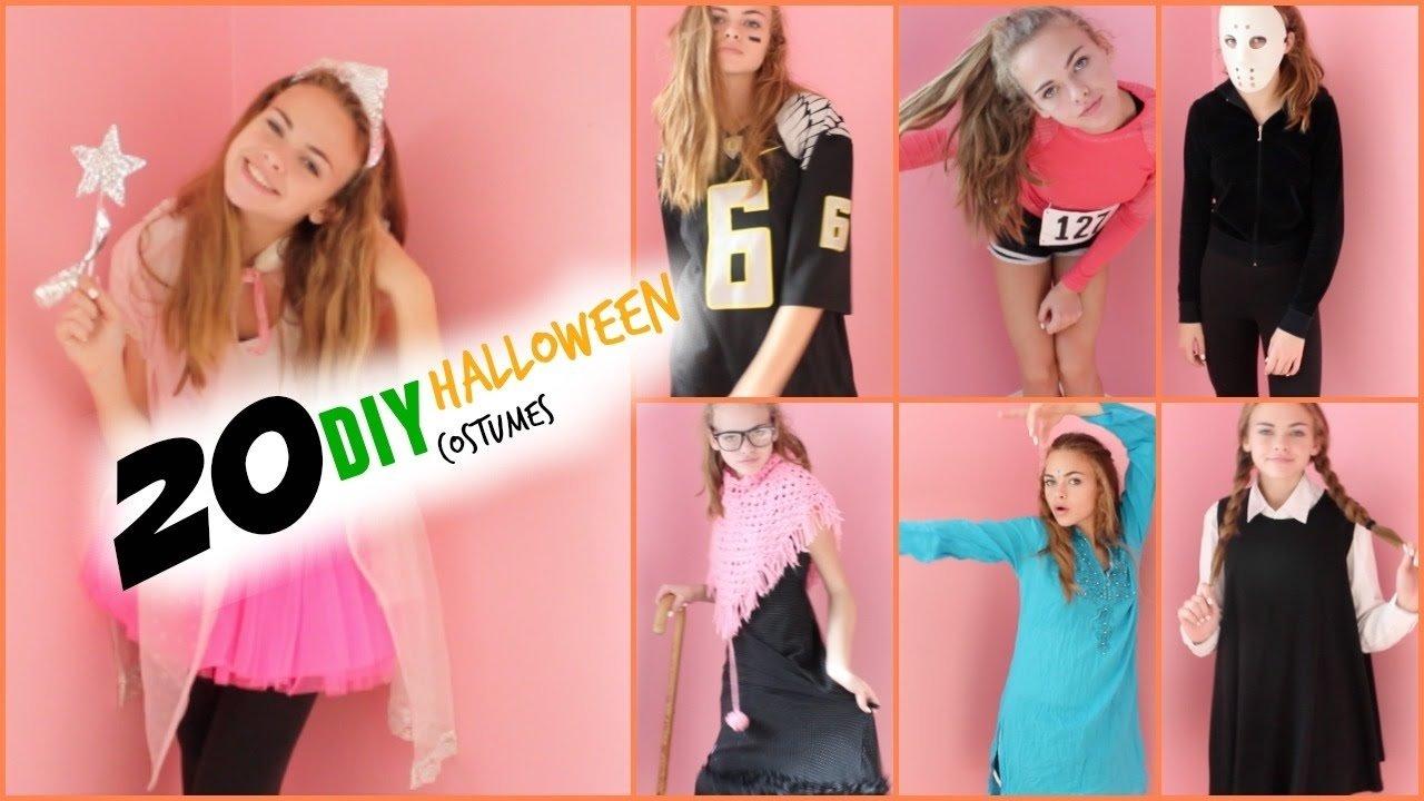 10 Unique Cute Last Minute Costume Ideas extremely last minute diy halloween costume ideas youtube 8 2020