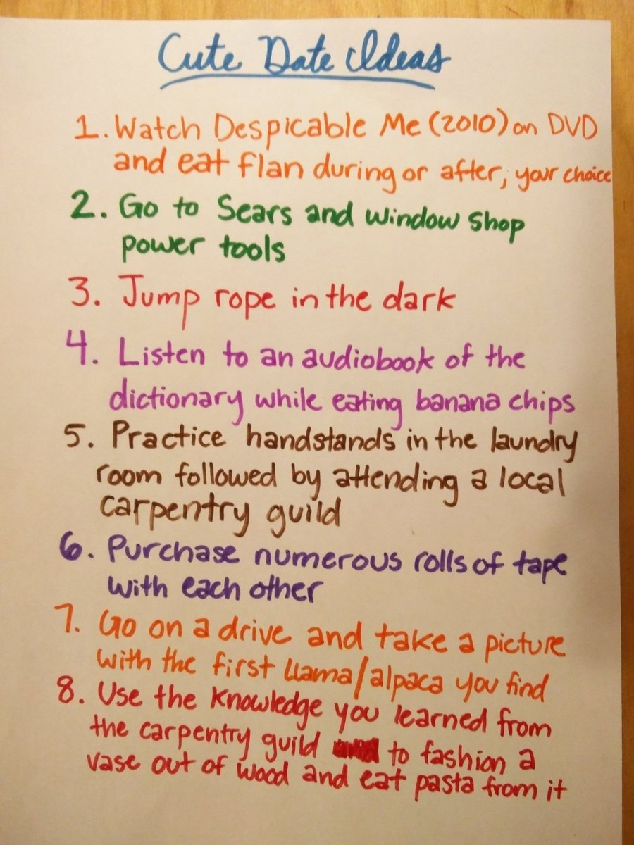 Good first date ideas for teenagers