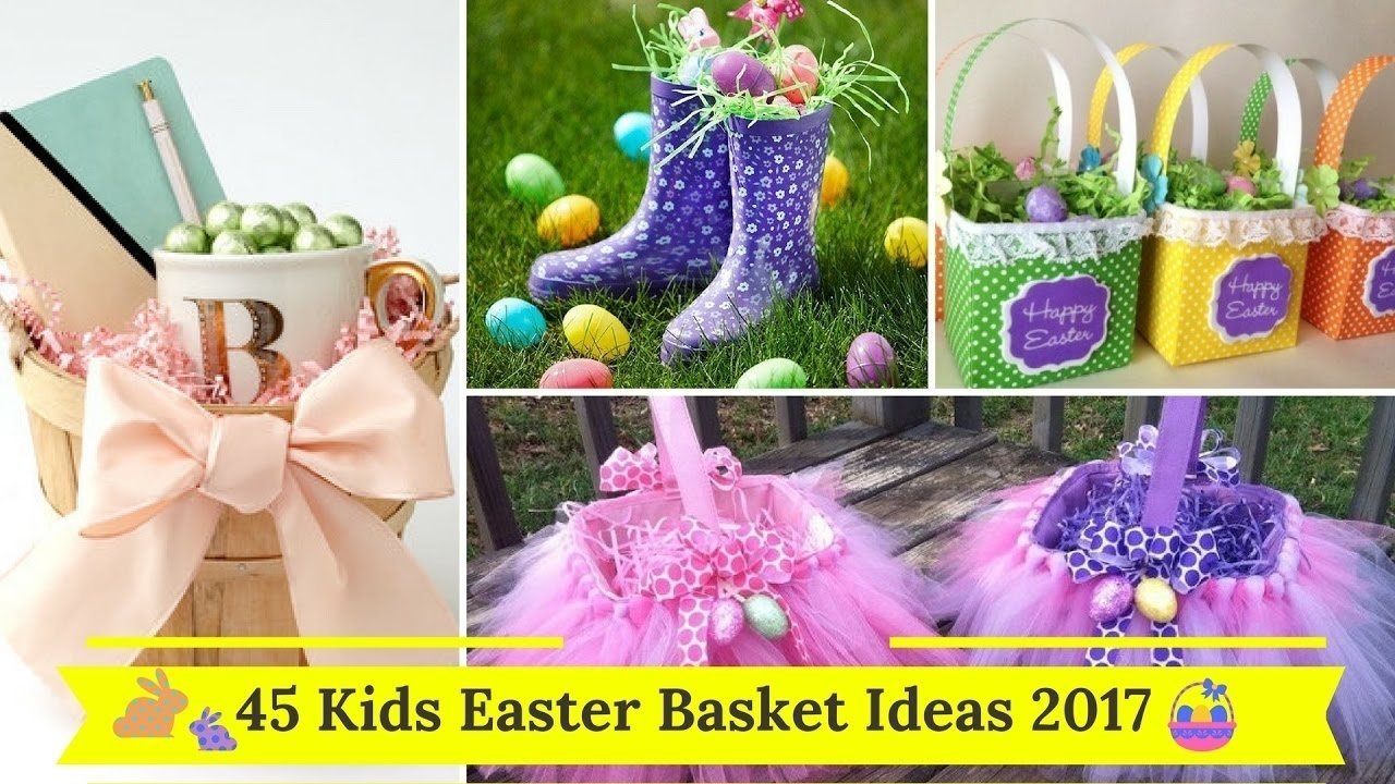 10 gorgeous easter gift ideas for kids 10 gorgeous easter gift ideas for kids f09f929545 kids easter basket ideas 2017 f09f9295 youtube negle Image collections