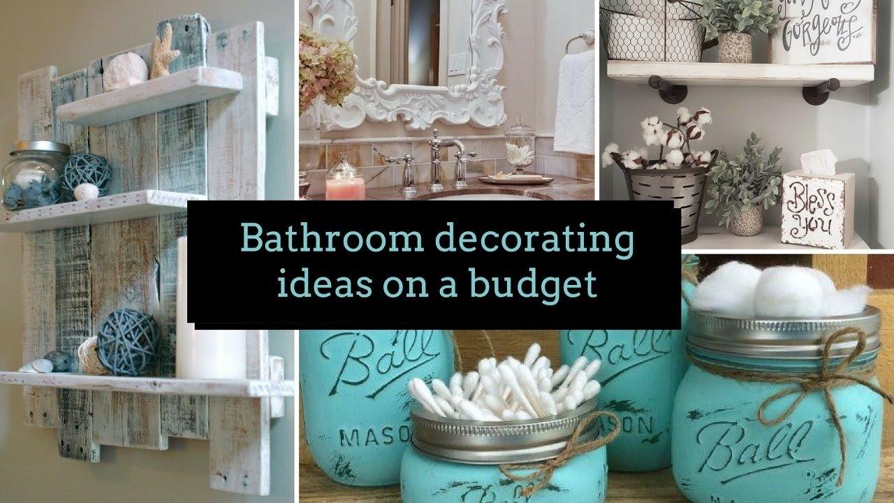 10 Cute Bathroom Decor Ideas On A Budget f09f9b80 diy bathroom decorating ideas on a budget f09f9b80 home decor 2 2020