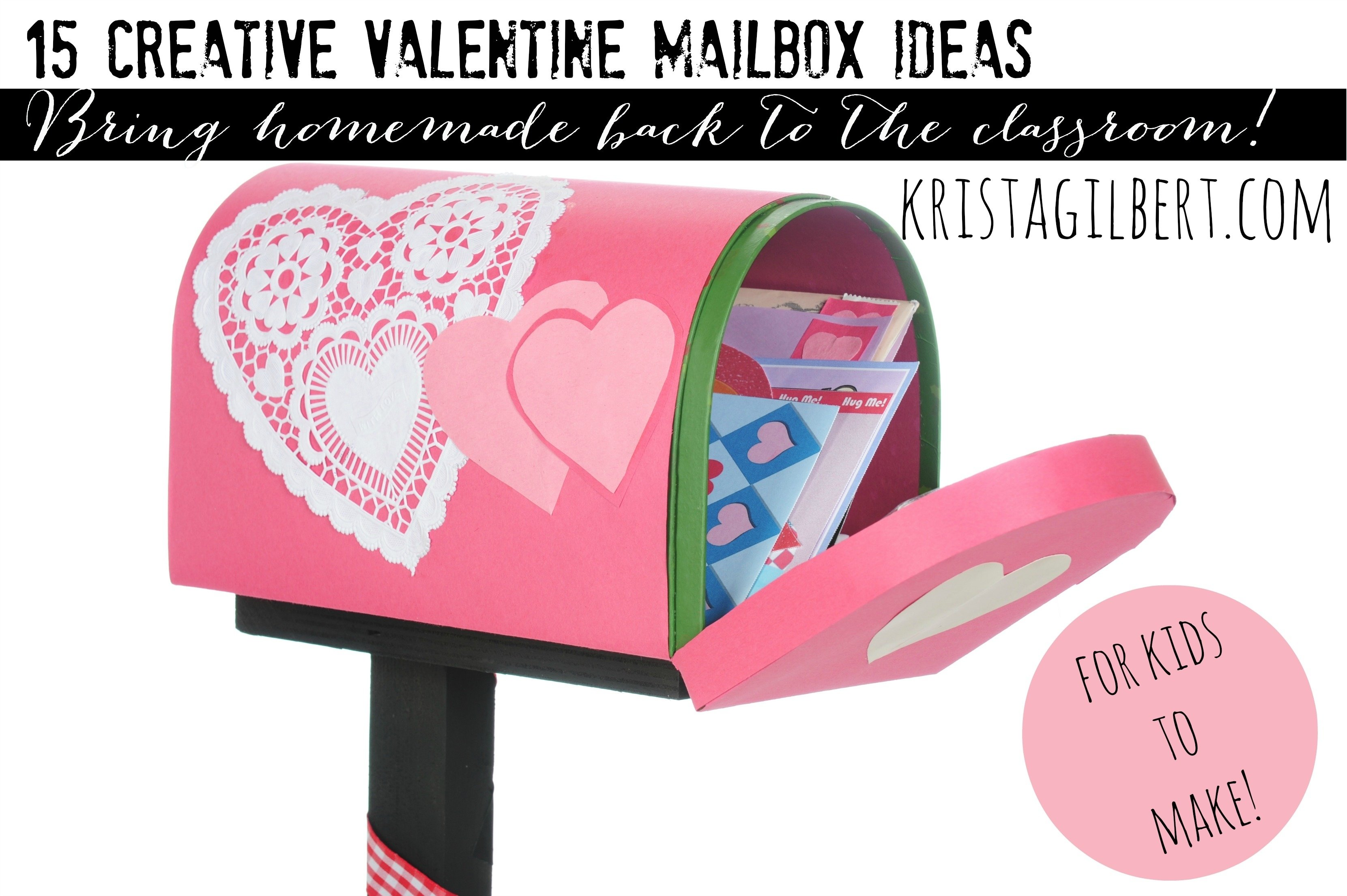 10 Most Popular Ideas For Valentines Day Boxes For School fab valentines day box ideas for kids krista gilbert