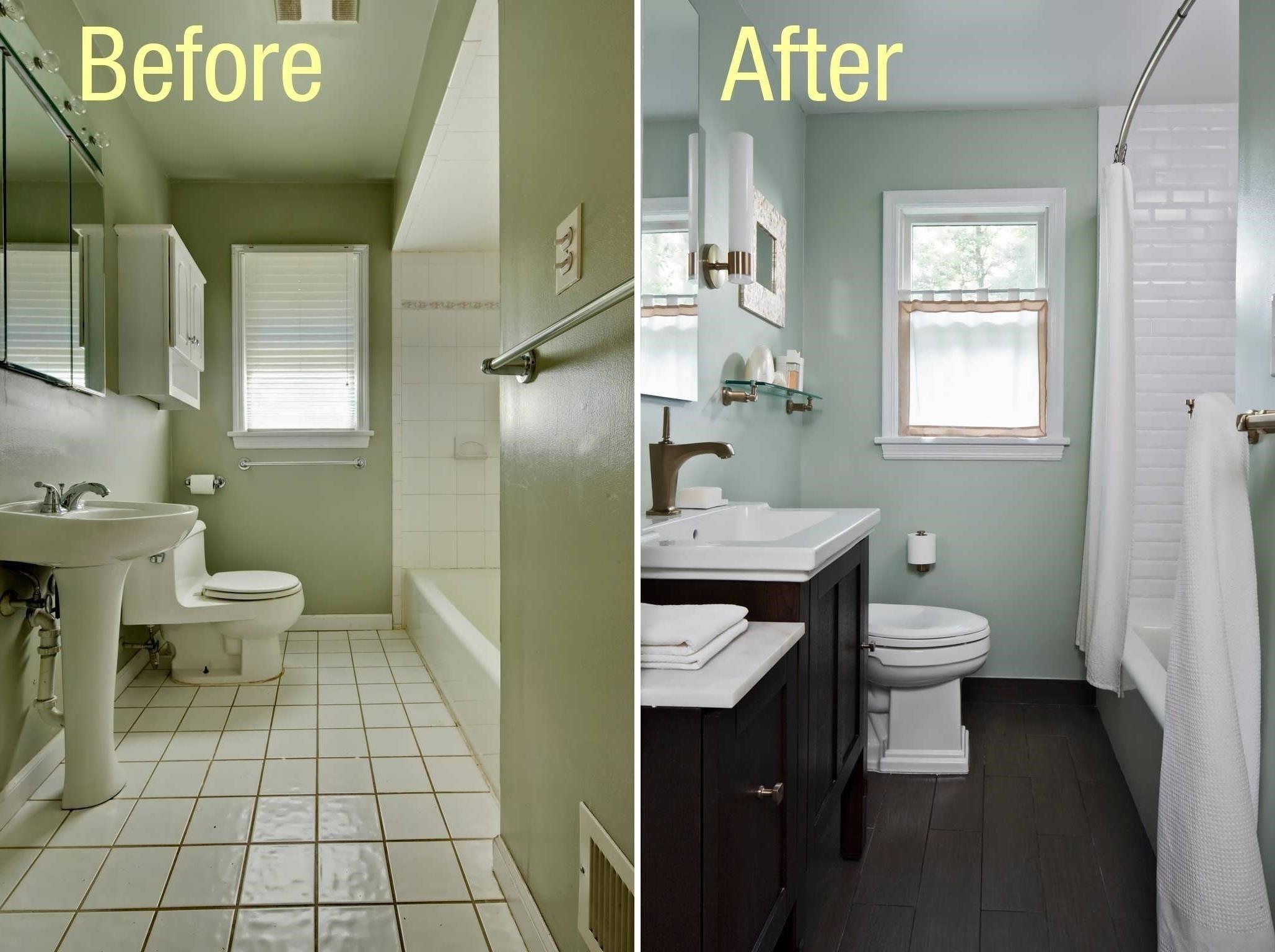 10 Perfect Small Bathroom Remodel Ideas On A Budget fabulous cheap bathroom remodel ideas related to interior design 1