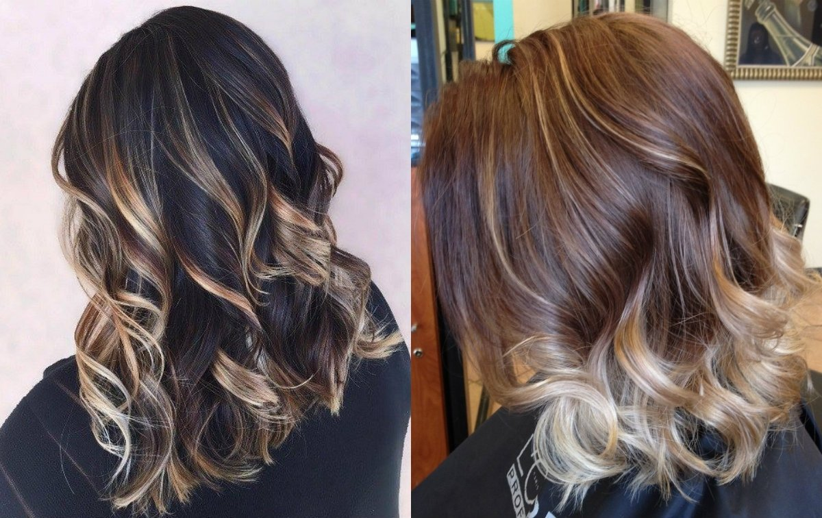 10 Beautiful Highlights Ideas For Brown Hair fabulous dark hair with blonde highlights 2017 hairdrome 2021