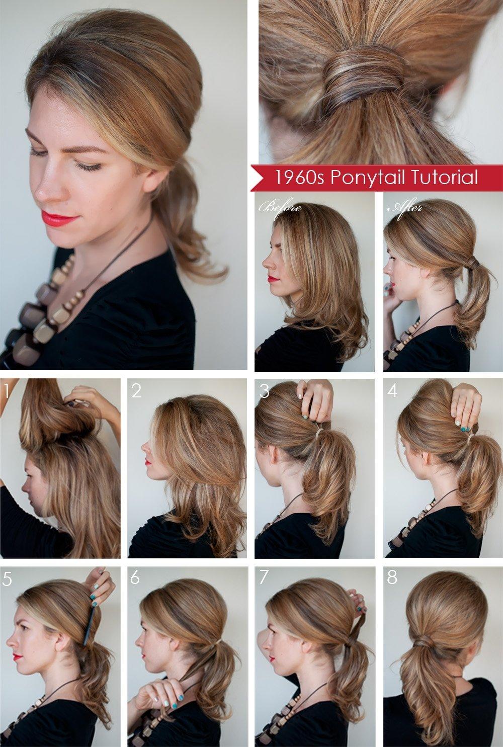 10 Unique Ponytail Ideas For Short Hair fabulous ponytail hairstyles for short hair 80 ideas with ponytail 2021