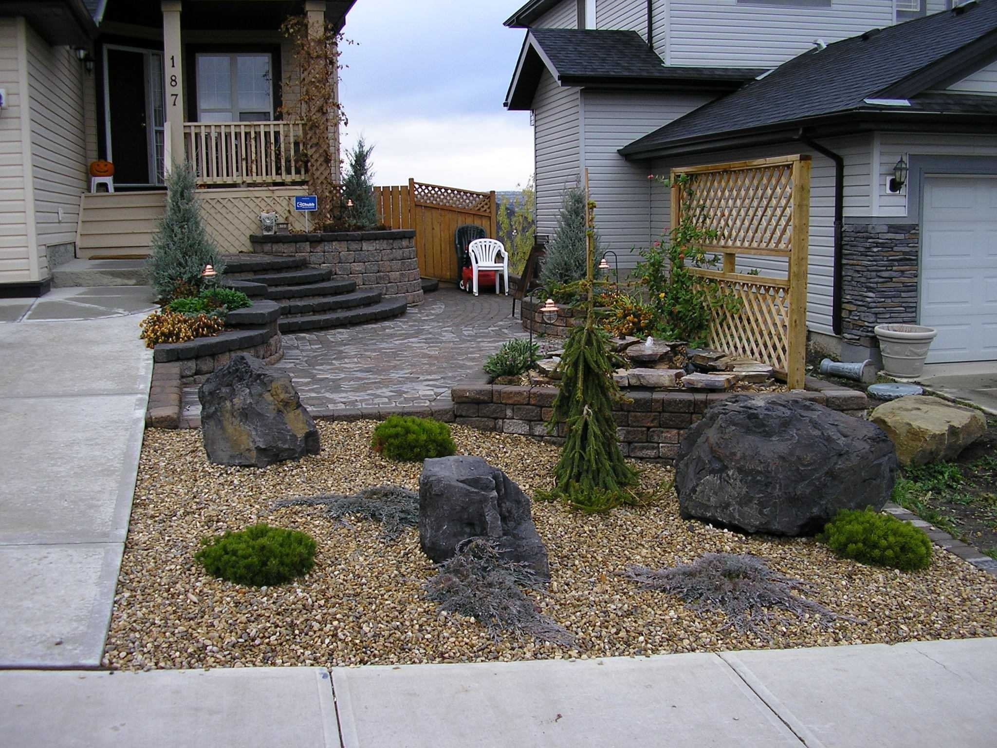 10 Perfect Rock Landscaping Ideas For Front Yard fabulous rock landscaping ideas for front yard with images pictures 2020