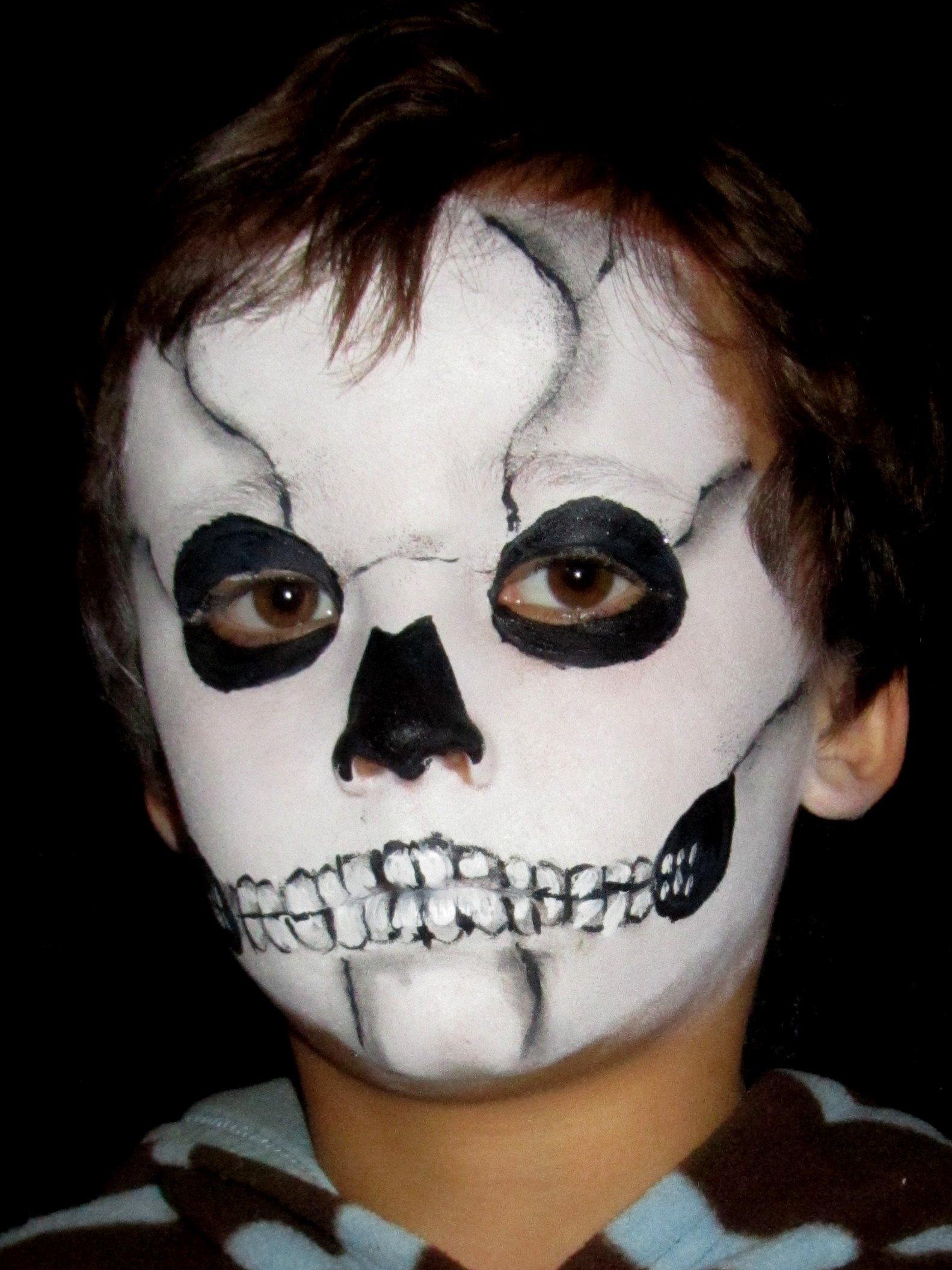10 Best Cool Halloween Face Paint Ideas face painting designs celestielle paint 1 2020