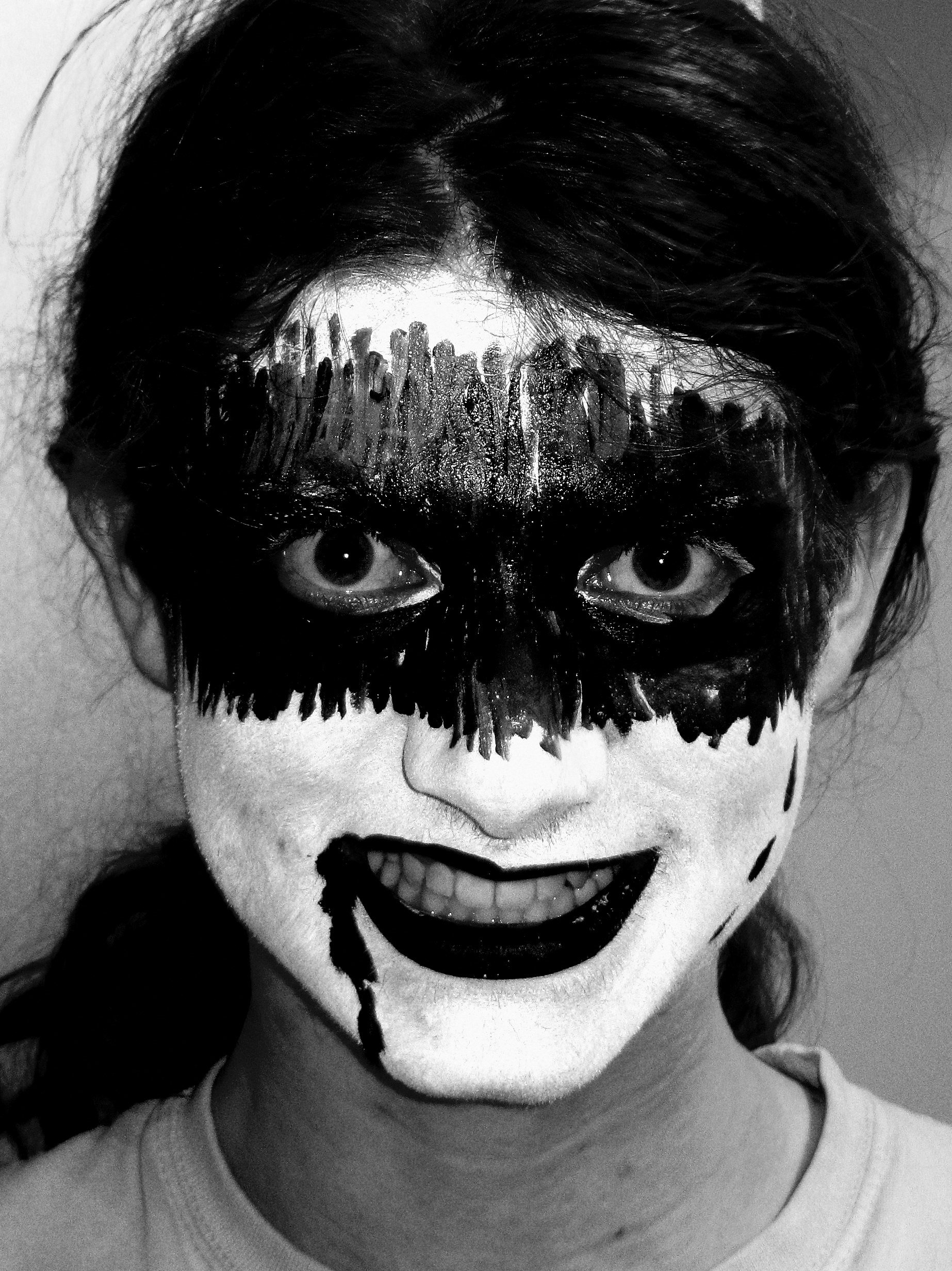 10 Wonderful Black And White Face Paint Ideas For Halloween face painting designs celestielle paint 2 2020