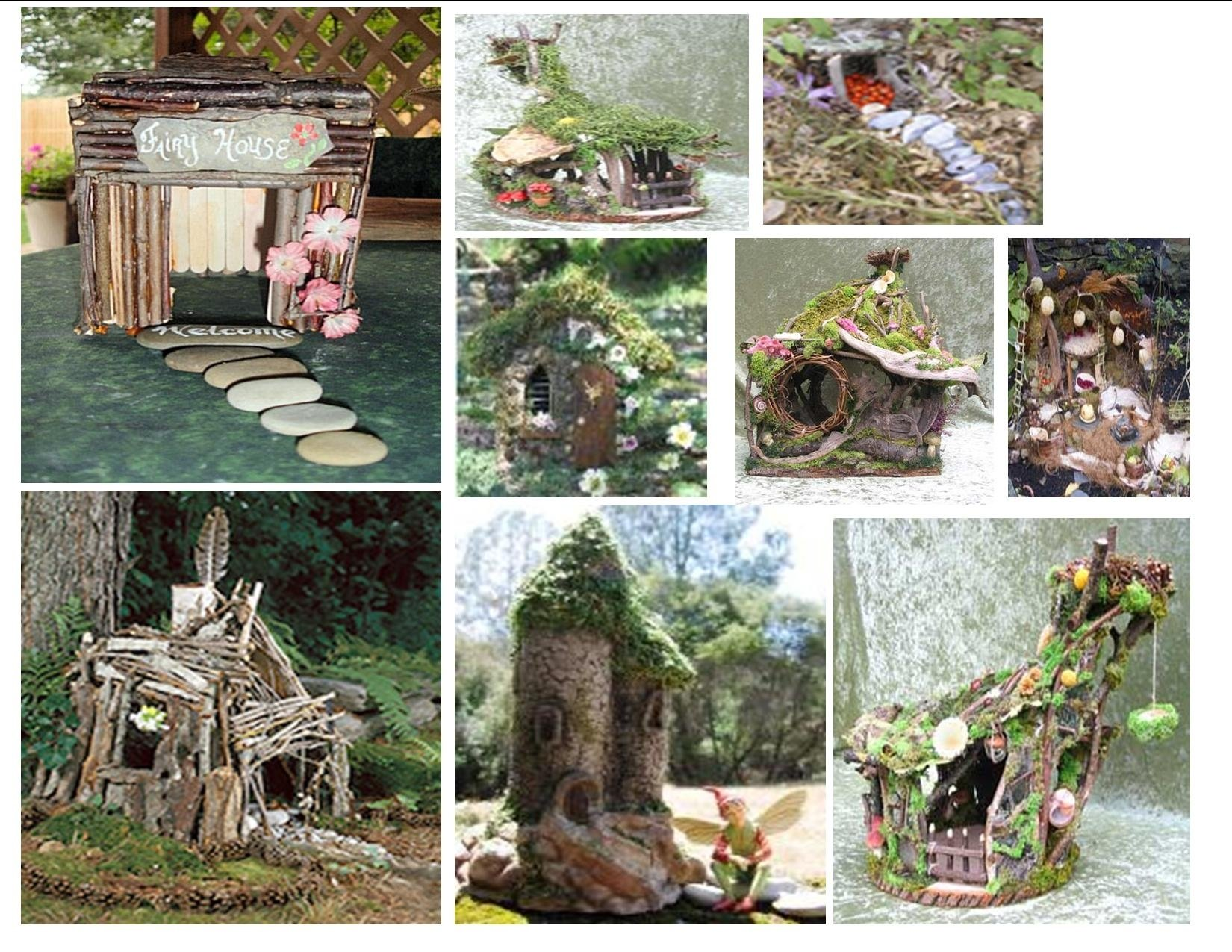 fairy craft: make a fairy house | fairy houses, bird nest craft and
