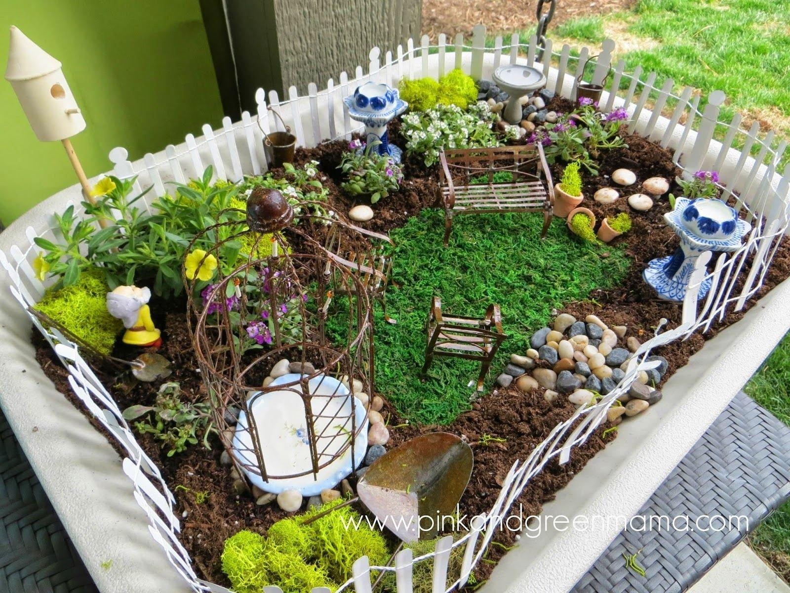 10 Unique Fairy Garden Ideas For Kids