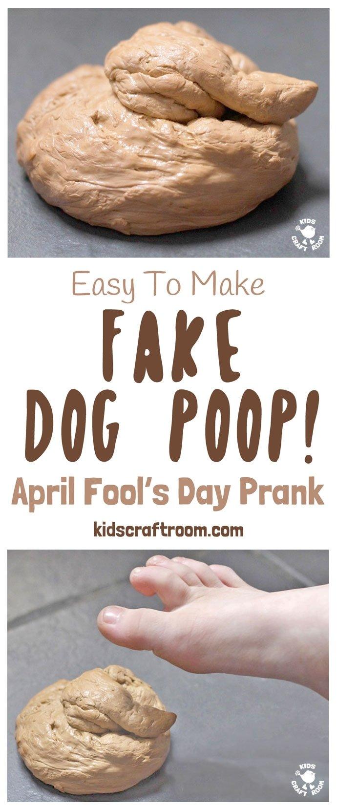 10 Wonderful April Fools Ideas For Kids fake dog poop april fools day prank kids craft room 2020