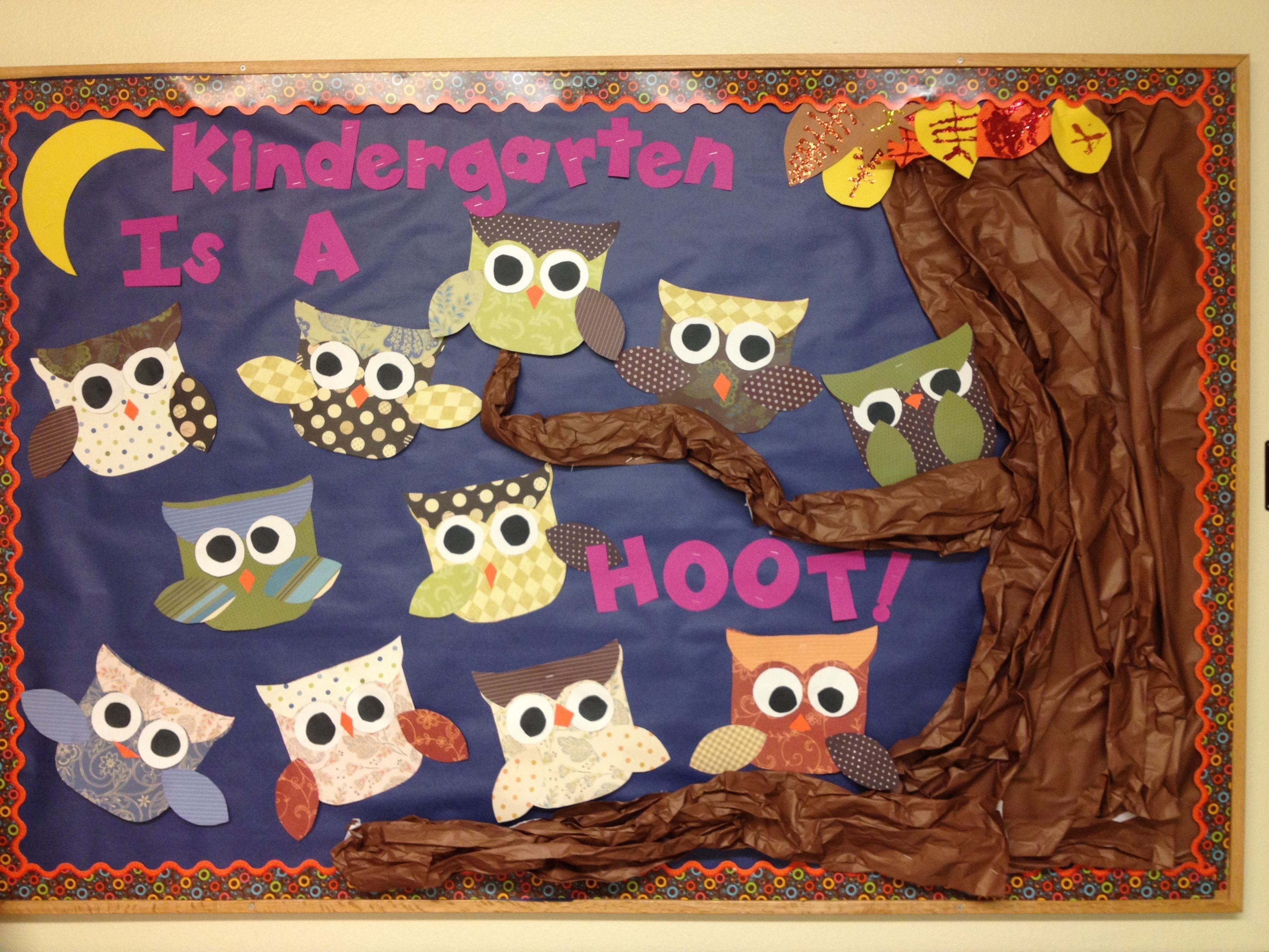 10 Ideal Beginning Of Year Bulletin Board Ideas fall beginning of year bulletin board kids make owls out of 2020