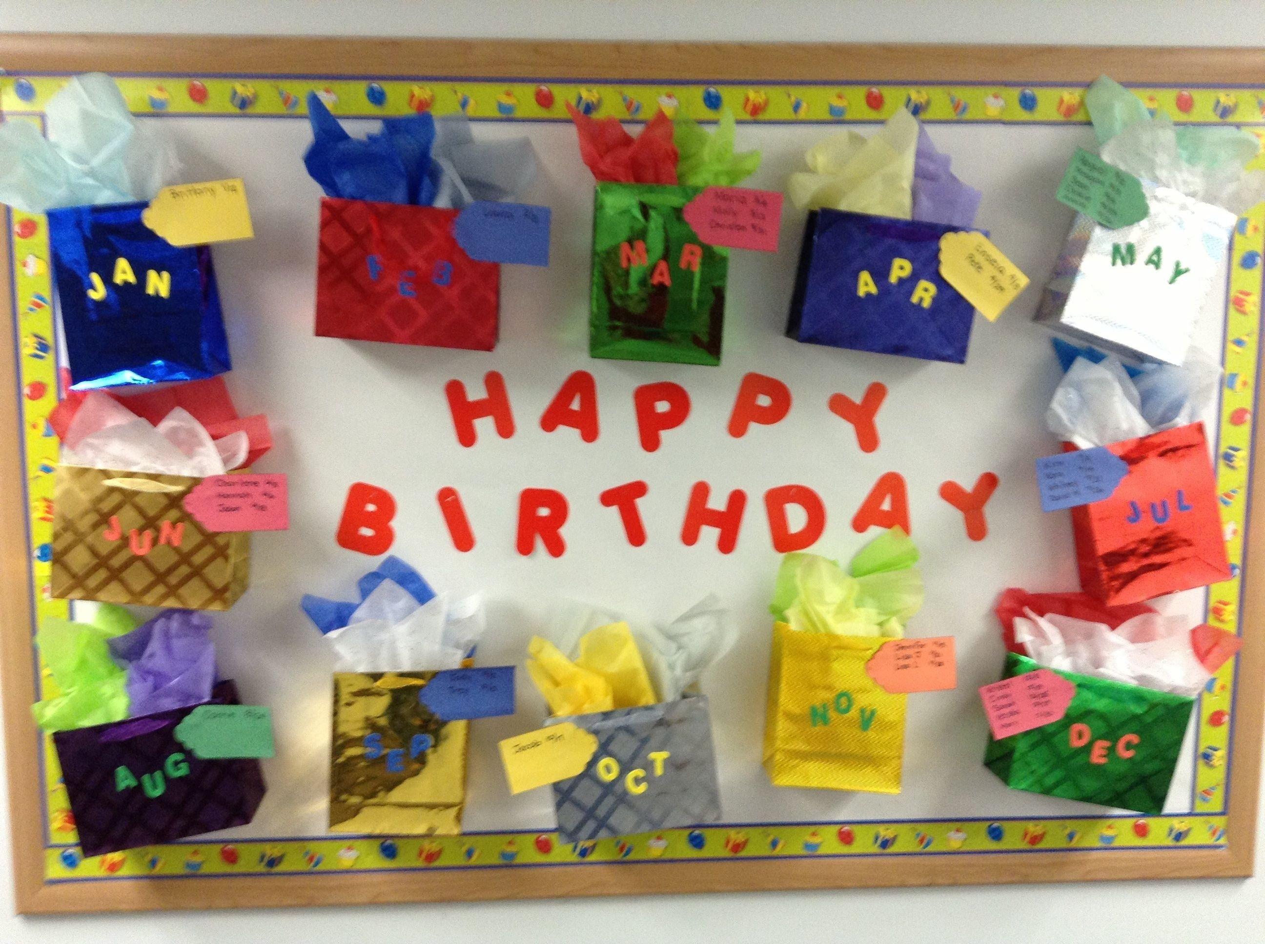 fall birthday bulletin board ideas |jodymillerblog | bulletin