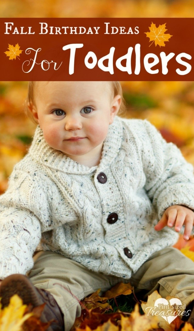 10 Great Fall Picture Ideas For Babies fall birthday party ideas for toddlers 1 2020