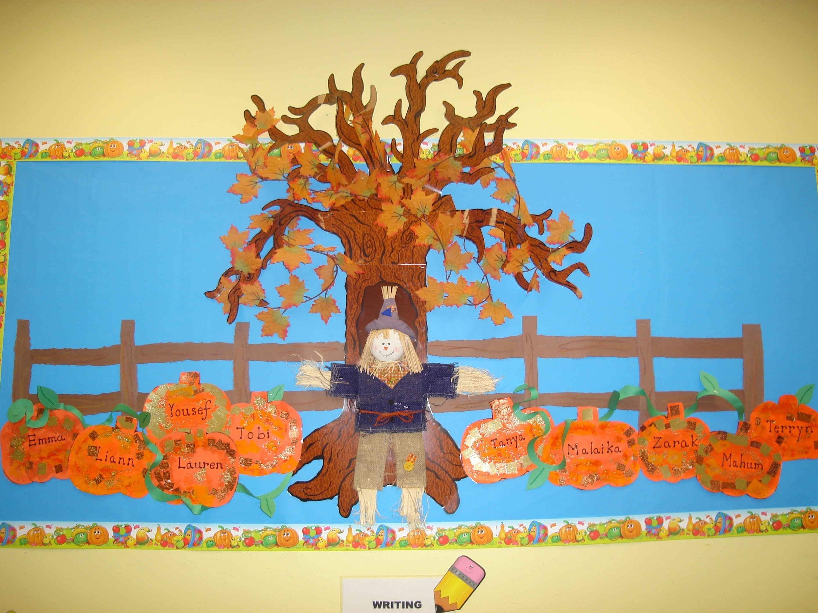 10 Lovely Fall Bulletin Board Ideas Kindergarten fall bulletin board idea oh how i miss creating my boards the 1 2020