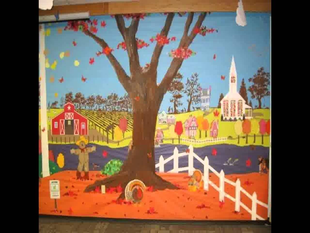 10 Lovely Fall Bulletin Board Ideas For Preschool fall bulletin board ideas for preschool youtube 2