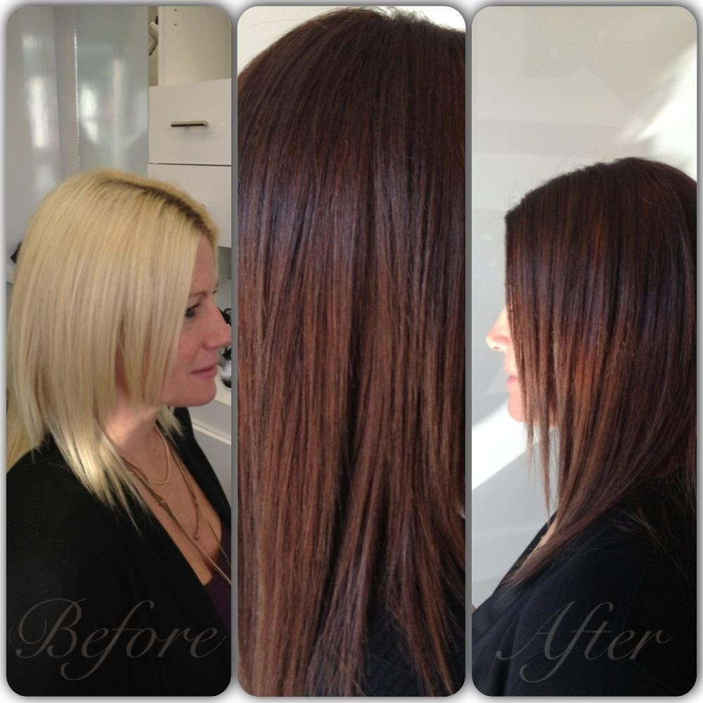 10 Pretty Chestnut Brown Hair Color Ideas fall chestnut brown stylist keri unger hair brunette wella 2020