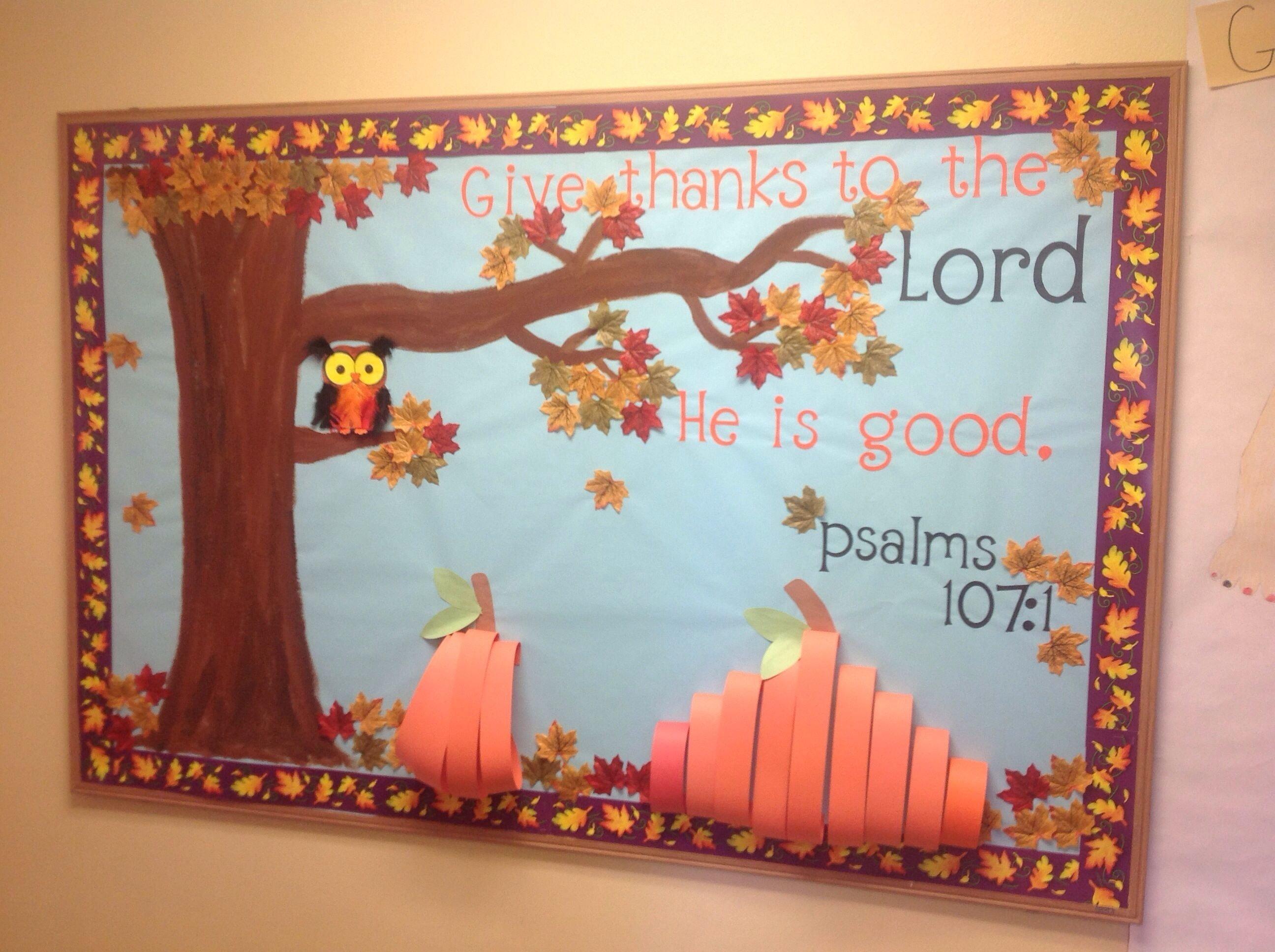 fall christian bulletin boards | christian fall bulletin board