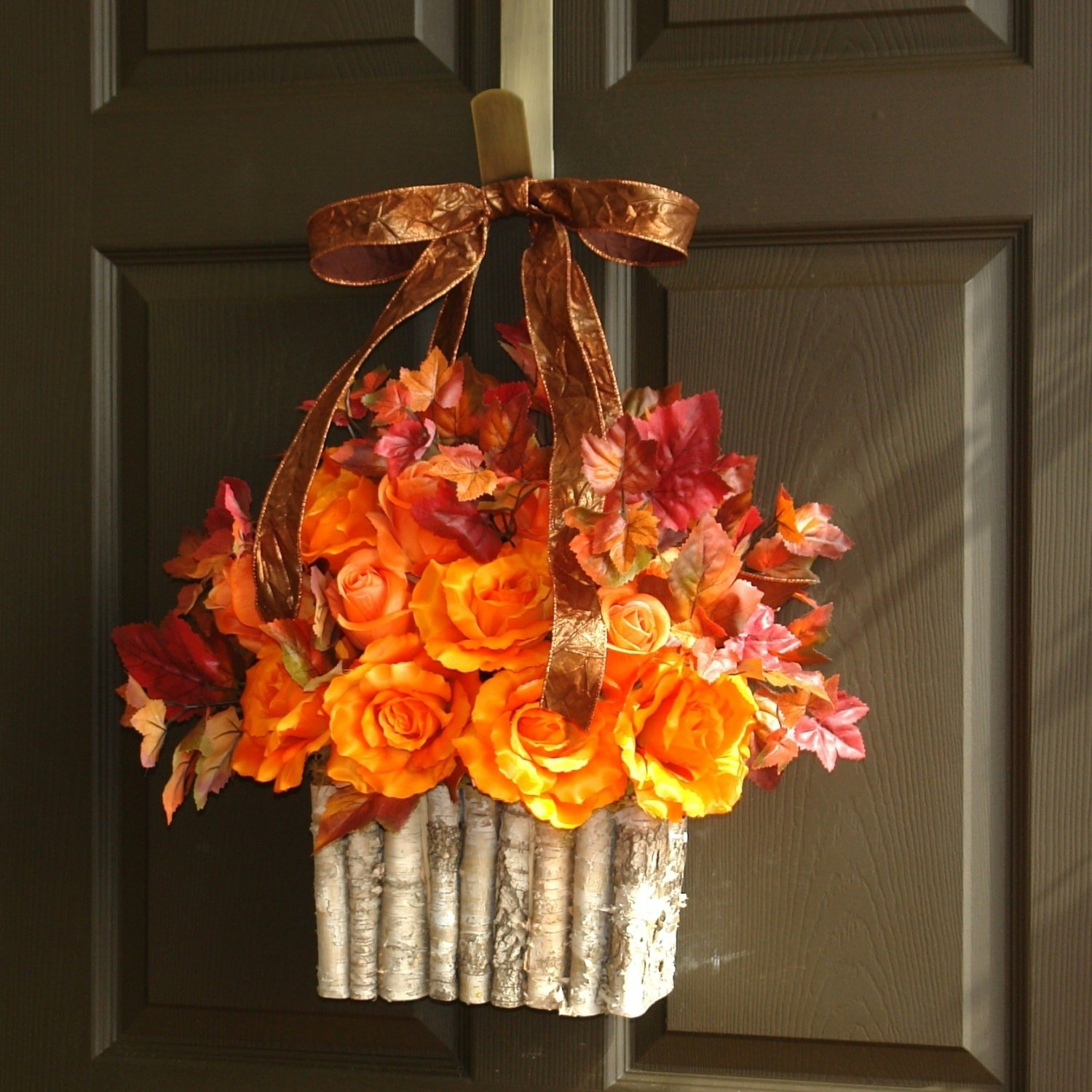 10 Stunning Fall Wreath Ideas Front Door fall front door wreath handballtunisie 2020